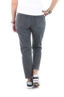 Picture of Please - Jeans P66 IV0 - Nero Denim