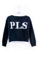Picture of Please Pullover - BLACK