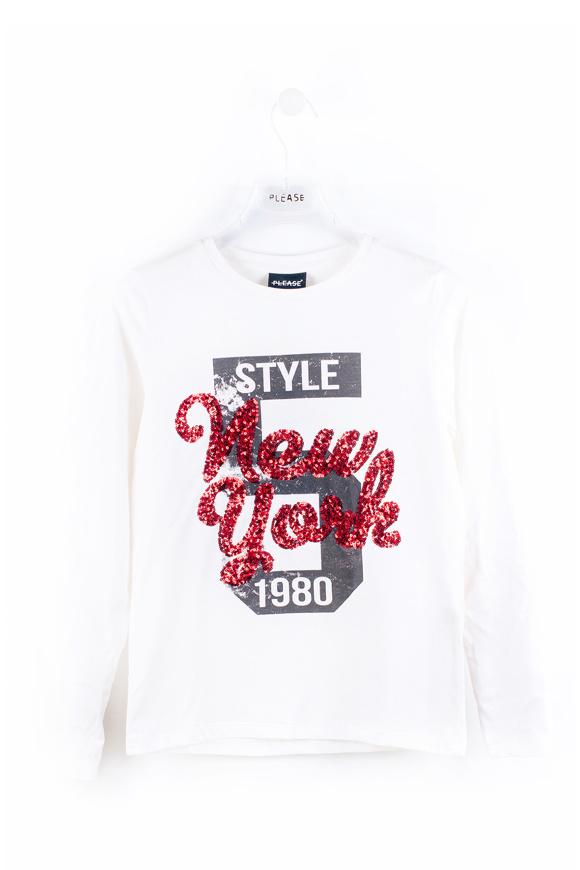 Immagine di Please maglietta - WHITE