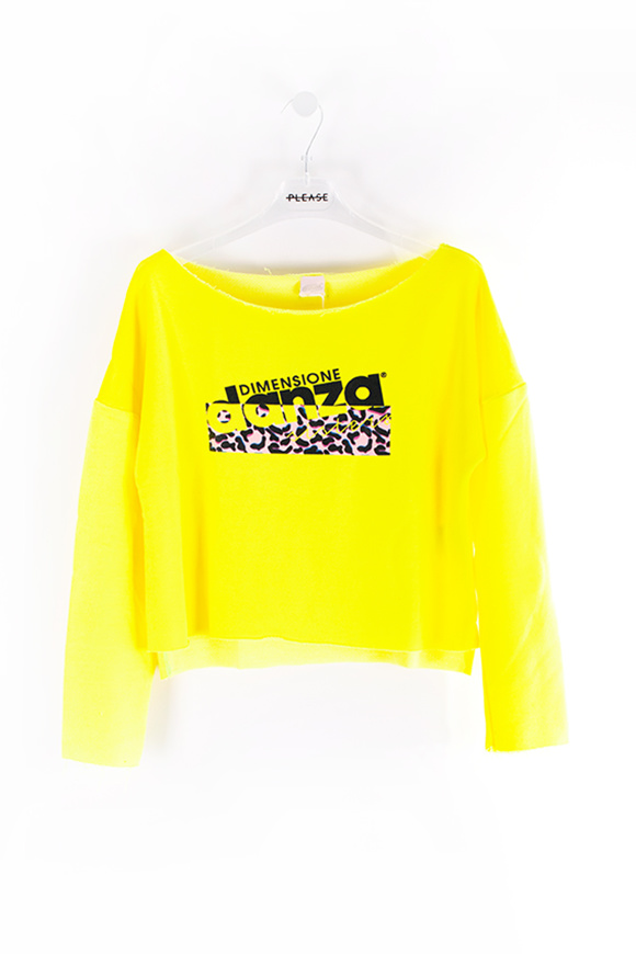 Picture of DANZA - sweater - yellow